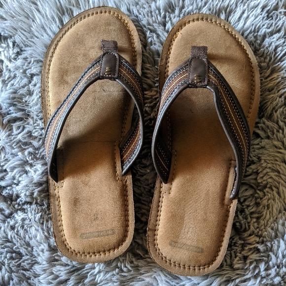 George Mens Size 3 Memory Foam Sandals